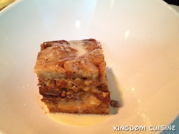 Fulton's Crab House Bread Pudding