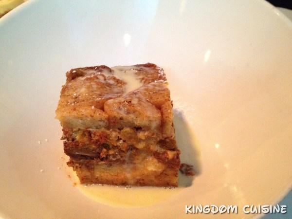 Fulton's Crab House Bread Pudding