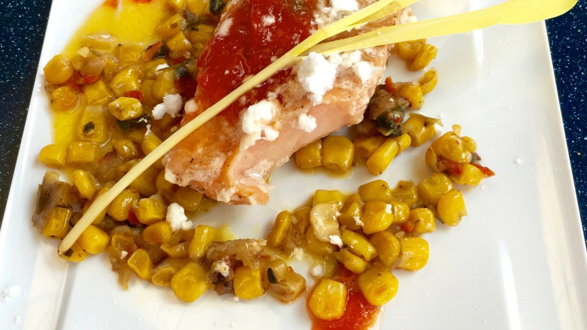 Chew Lab: Olive Oil-Poached Salmon