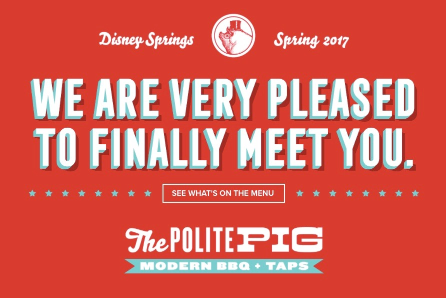 The Polite Pig Opening