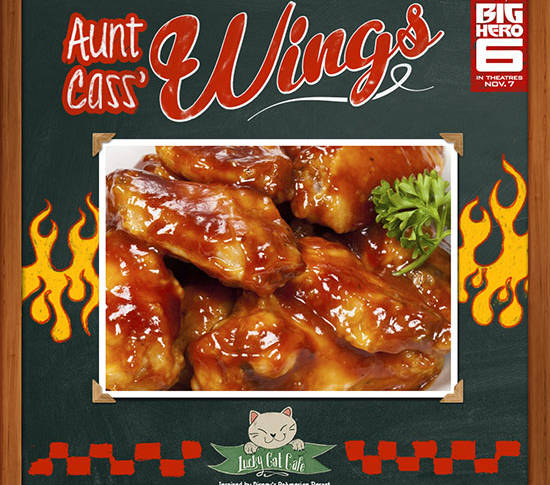 Aunt Cass' Wings