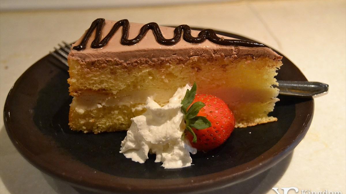 Teppan Edo: Ginger Mousse Cake