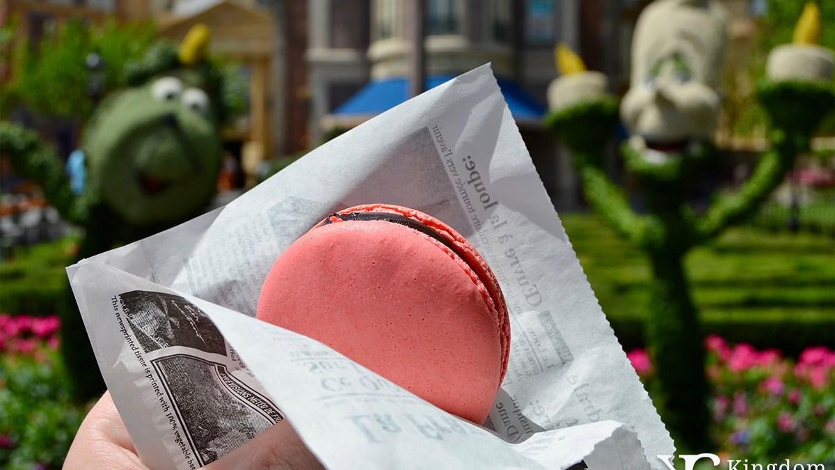 Macaron Chocolat Framboise