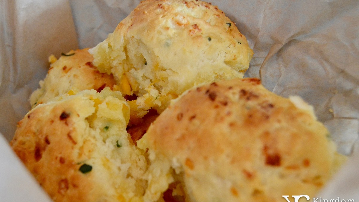 Chef Art's Cheddar Drop Biscuits