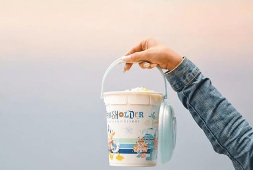 2018 Disneyland AP Popcorn Bucket