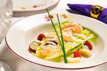 Romaine Wedge and Hot Smoked Salmon Salad – Courtesy Disney Cruise Line