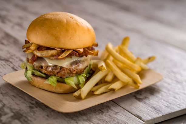 Chorizo-Burger-at-Spyglass-Grill-at-Disneys-Caribbean-Beach-Resort-613x409