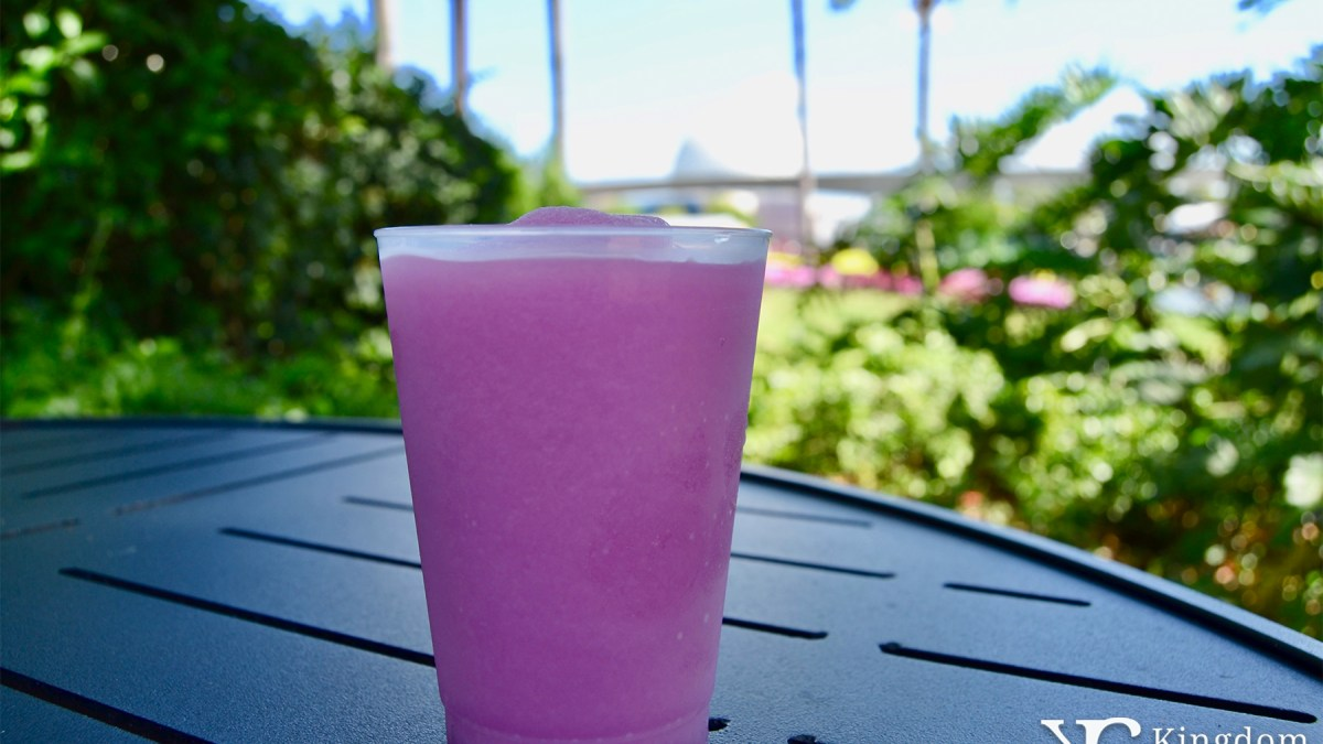 Frozen Violet Lemonade