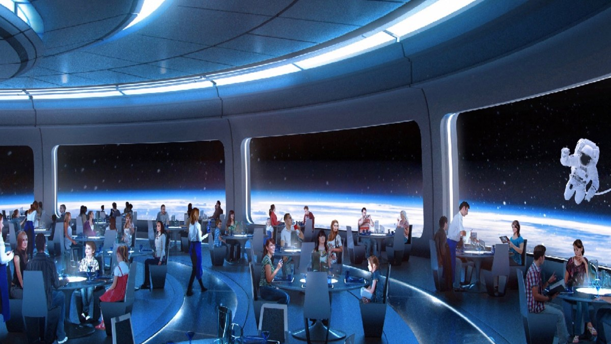 NEW Future World Restaurant