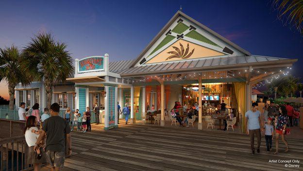Dining at Disney's Caribbean Beach