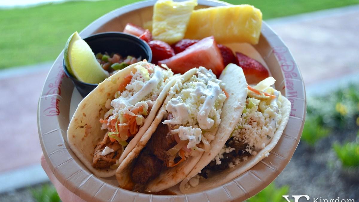 Caribbean Taco Trio