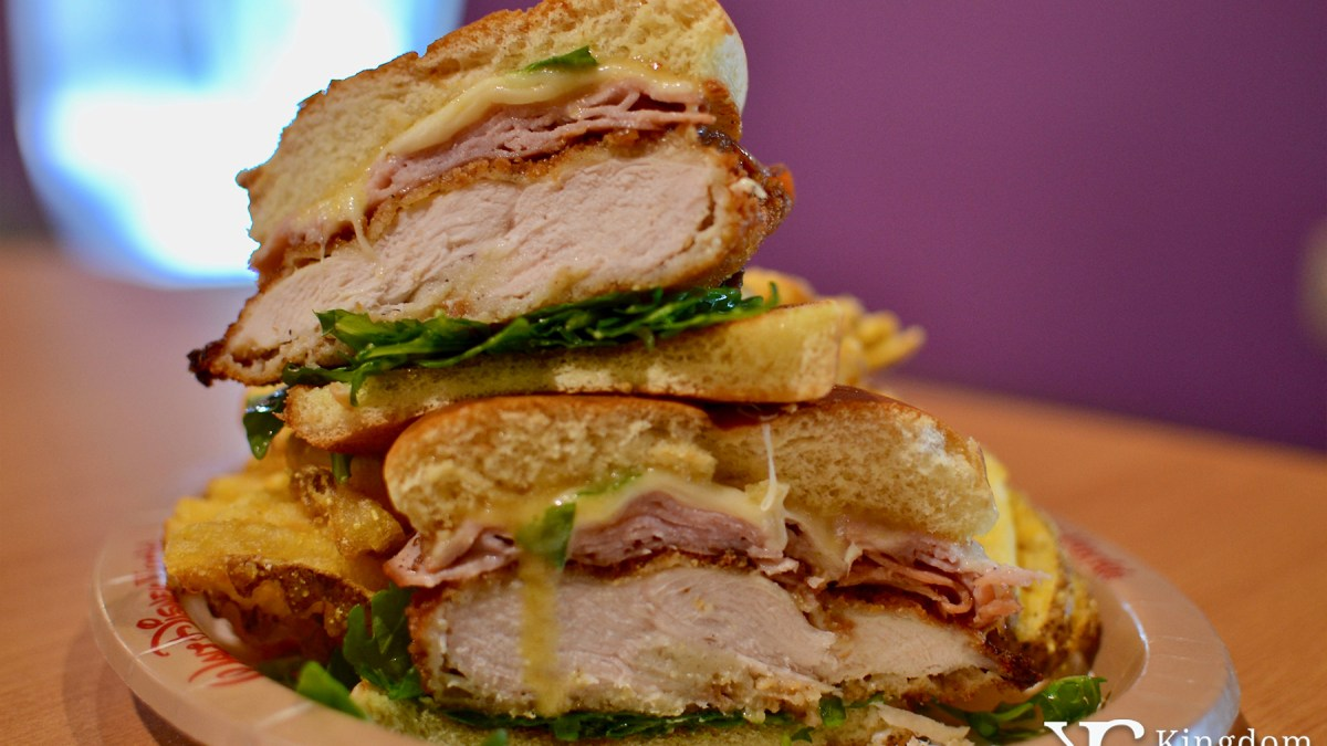 Chicken Cordon Bleu Sandwich