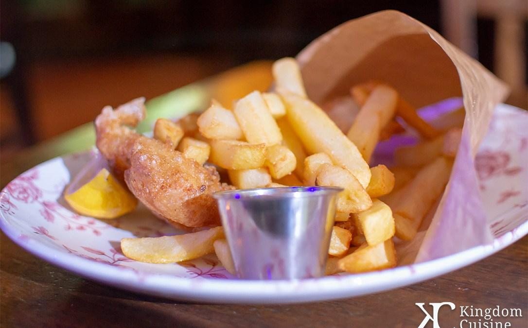 Gluten Free Fish & Chips