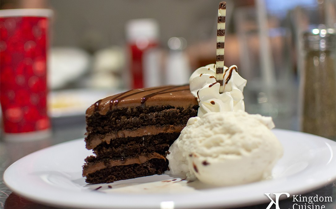 Dad's Favorite Chocolate-Peanut Butter Layered Cake