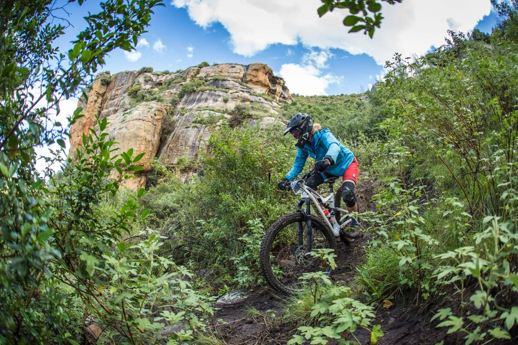 Katja Steenkamp during kingdom enduro ews qualifier in lesotho 2018