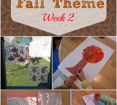 Fall Activities – Week 2