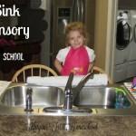 Tot School Sink Sensory