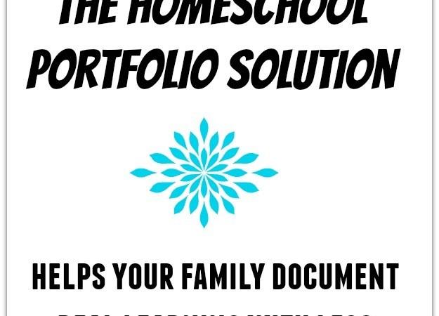 Homeschool Portfolio Solution | 30 Day Free Trial