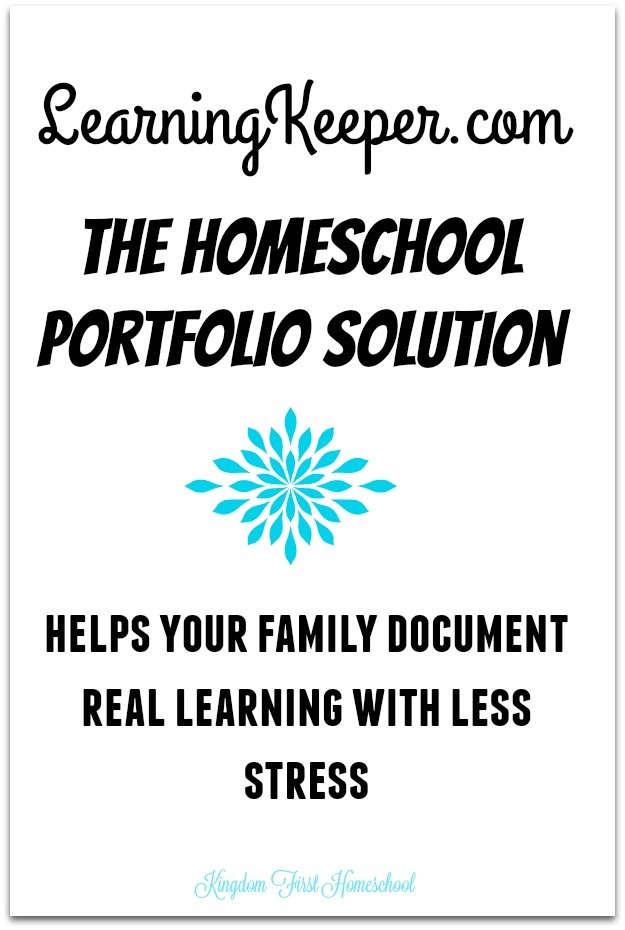Learningkeeper.com The Homeschool Portfolio Solution