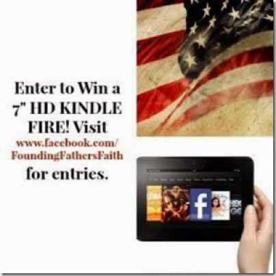 Exploring the Faith of America's Presidents book release & Kindle Fire Giveaway