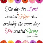 Hope Springs White Free Printable