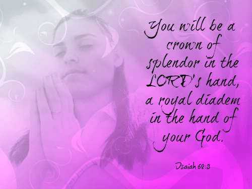 Crown of Splendor in the Lord's Hand