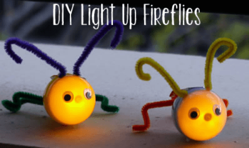 DIY Light Up Fireflies- Kidpep blog