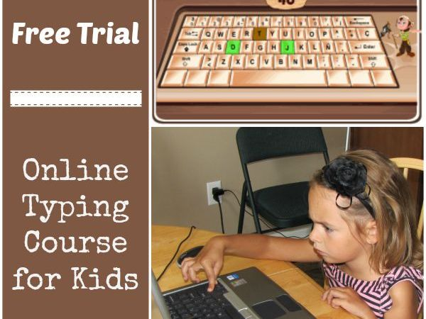Free Trial: Online Typing Course for Kids