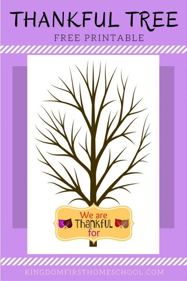 We all know Thanksgiving is a time to reflect and share what we are thankful for. This thankful tree free printable is a great way to teach our kids gratitude. Bad attitudes and the gimmes can be overwhelming. It is our nature as humans to be selfish so tiny humans have a harder time with it.