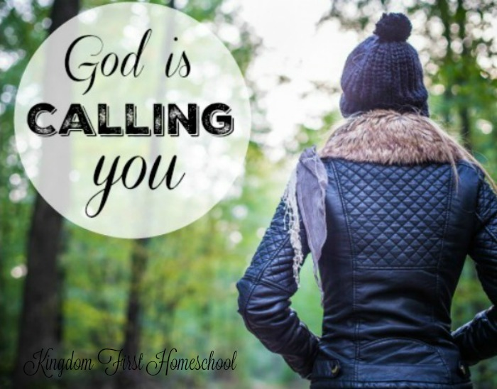 God is calling you back to Him away from the little distractions that steal your gaze. He wants you to seek His face. He wants you to be in constant communion with Him, always relying on Him. He wants you to believe Him, to trust in Him. He wants more of you. God is Calling you... Can you hear Him?