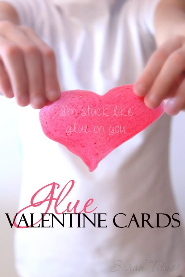Glue Valentine Cards