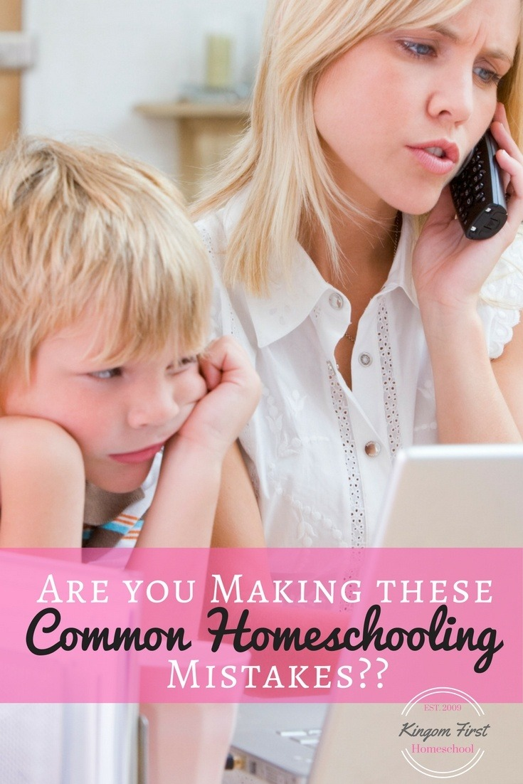 Everyone makes mistakes, the trick is to catch them before they become a bad habit or a strong hold, especially when they can be easily avoided. Don't miss these, more common than you know, homeschooling mistakes you might be making….and how to fix them!