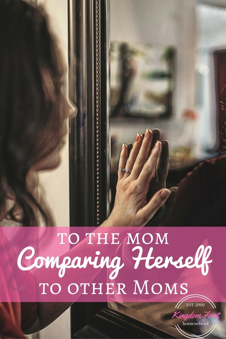 Are you constantly comparing yourself to other moms? We all fail, we all question our parenting skills, but that doesn't have to define us. We can move past all the lies that tell us we are failing and can boldly stand up and say we are doing our best.