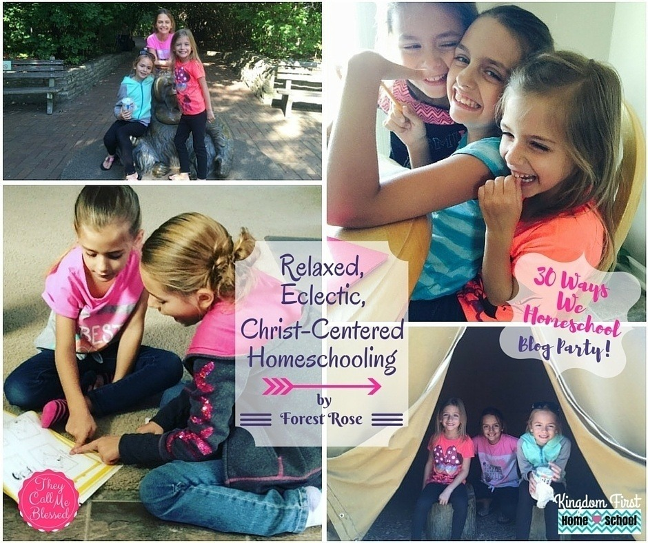 30 Ways We Homeschool Christ-Centered Homeschooling