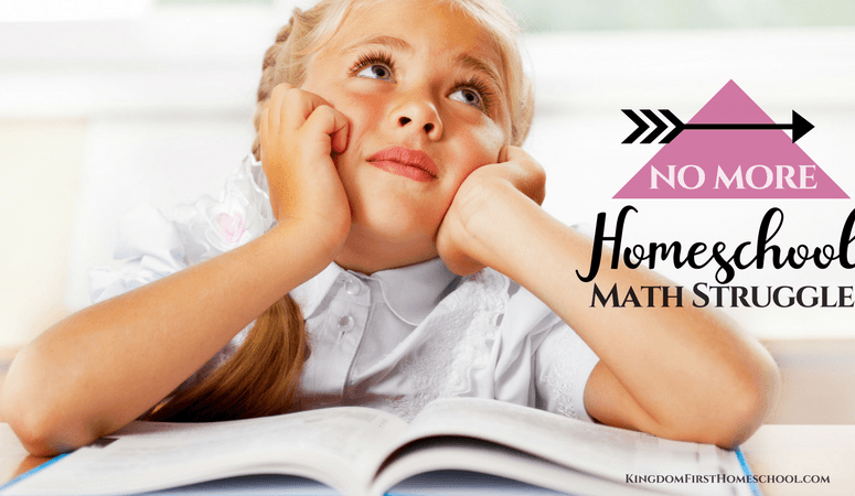 No More Homeschool Math Struggles