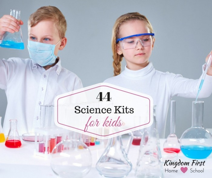 44 Science Kits for Kids