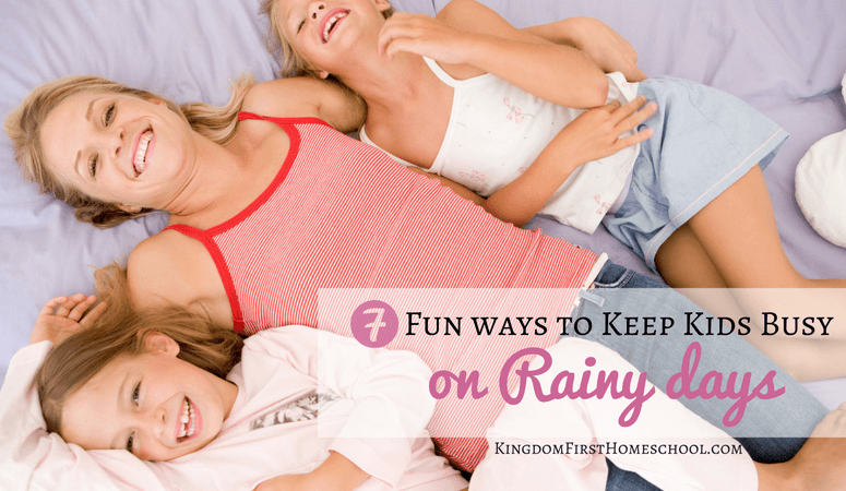 7 Fun Ways to Keep Kids Busy on Rainy Days