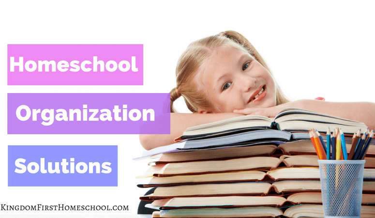 Simple Homeschool Organization Solutions