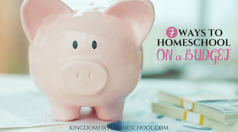 One of the most common misconceptions about homeschooling is that it is extremely expensive. Jen shares 7 tips to homeschool on a budget.
