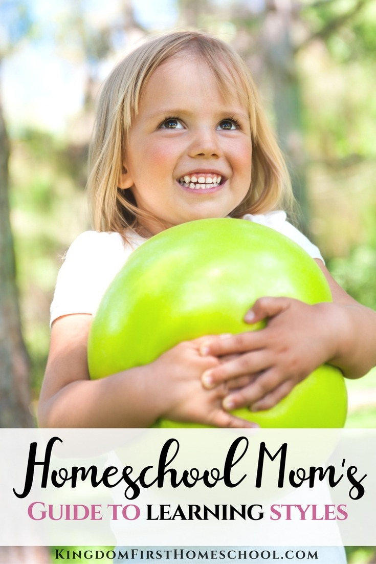 What Kind Of Learning Styles Do You Suspect Your Kids Have? Find out with this Homeschool Mom's Guide to Learning Styles.