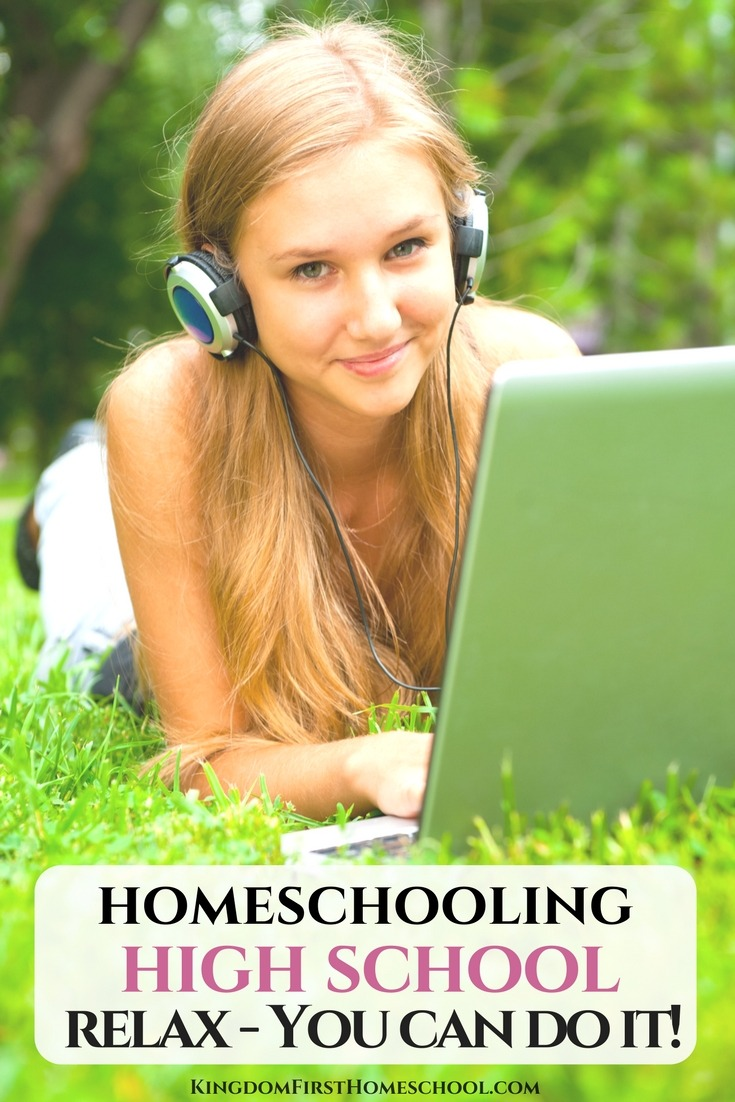 If homeschooling high school is in your child's near future, and you're frantically looking for a paper bag to breathe into, let me assure you that you won't need it. You can do this, homeschooling high school is not that hard, and you might even have fun.