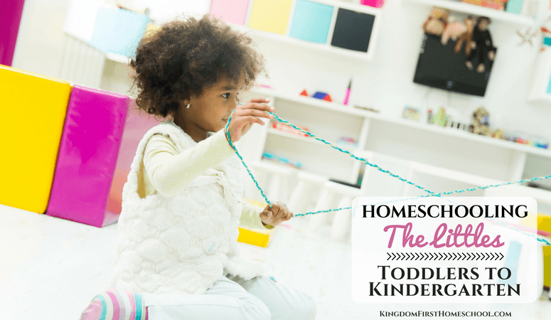Homeschooling Little Ones – Toddlers to Kindergarten