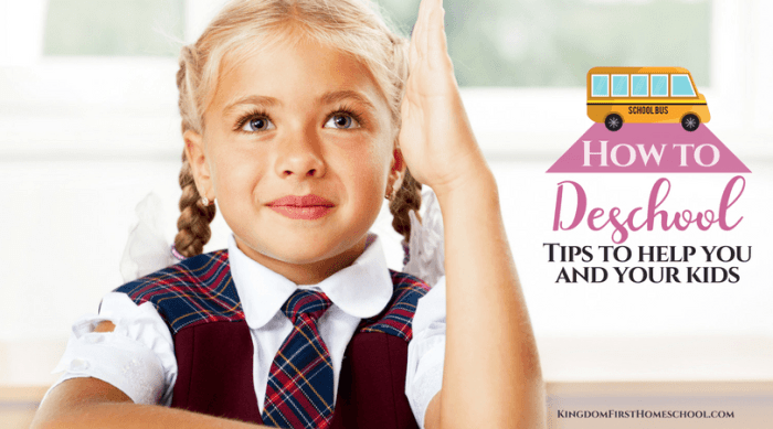 If you are a new homeschooler, deschooling can truly help. Learn how to deschool with these tips for a transition from public school to homeschool.