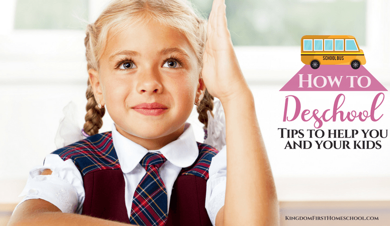 How to Deschool – Tips to Help You & Your Kids