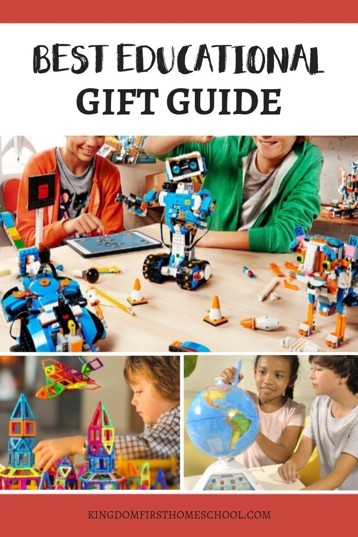 As a busy parent, you need all the help you can get. Teaching children takes time, effort, and a whole lot of creativity. Why not add educational Christmas gifts to your homeschool arsenal?