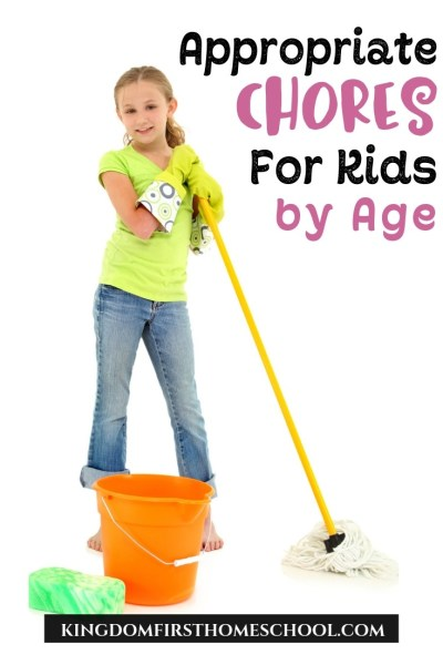 How to Assign Appropriate Chores for Kids by Age