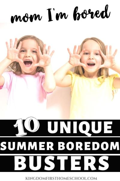 10 unique summer activities for kids to bust boredom