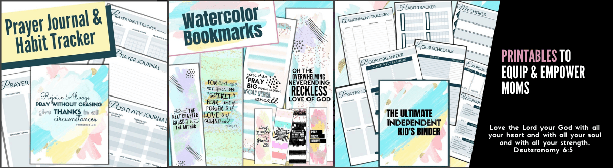 Printables to Equip and Empower Moms