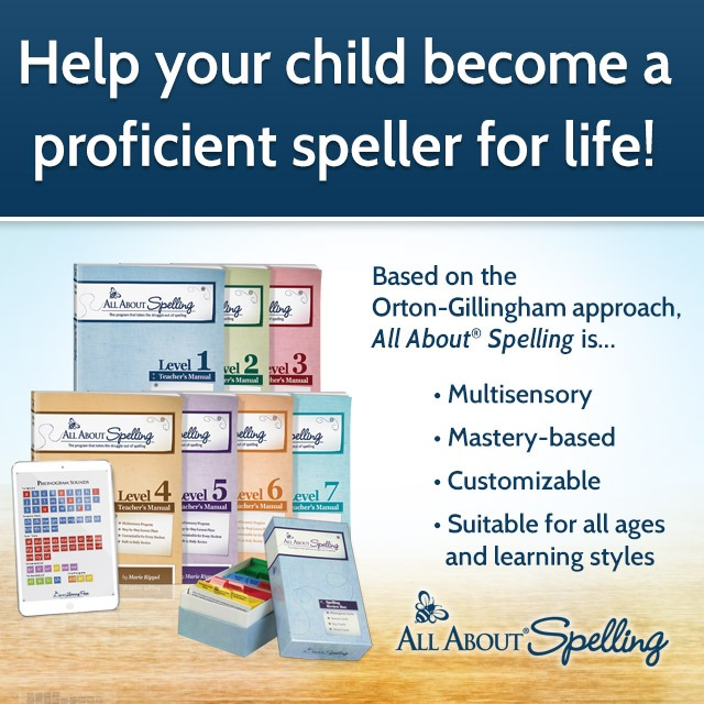 How to teach homeschool spelling with All About Spelling