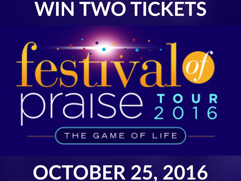 Win Two Tickets to Festival of Praise
